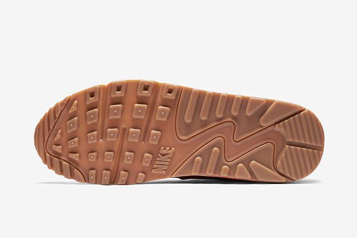 Nike Air Max 90 Womens Ember Glow Dark Cayenne Gum 2