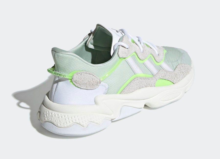 adidas Ozweego Dash Green Heel