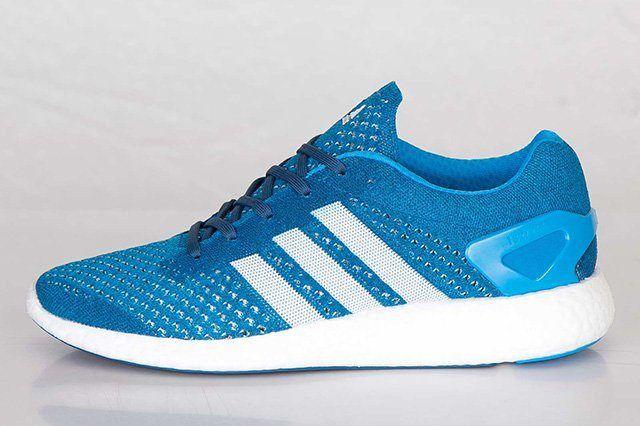 Adidas Primeknit Pureboost Solar Blue 3