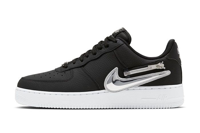 Nike Air Force 1 Zip On Swoosh Logo Release Date 1 Official
