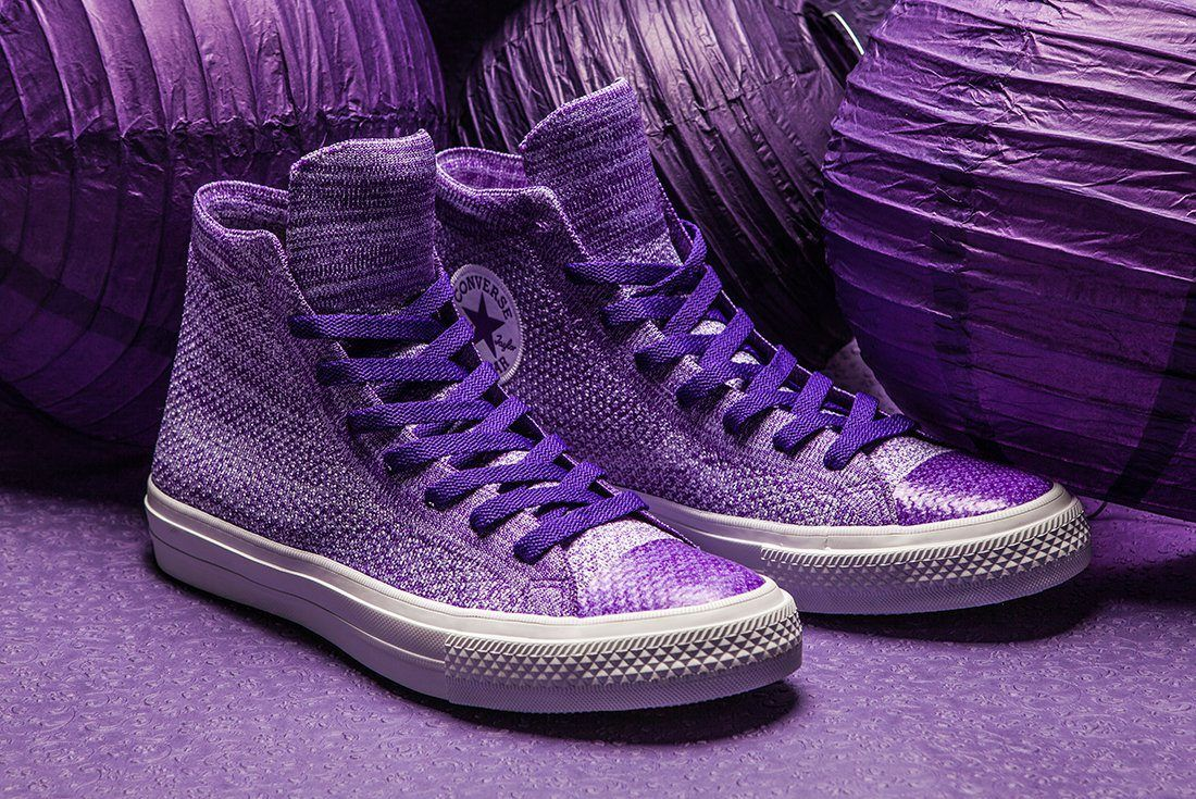 Converse Flyknit Hi 157508 Grape 1565