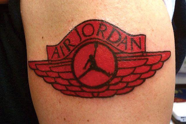 Air Jordan Wings Tattoo 1 1
