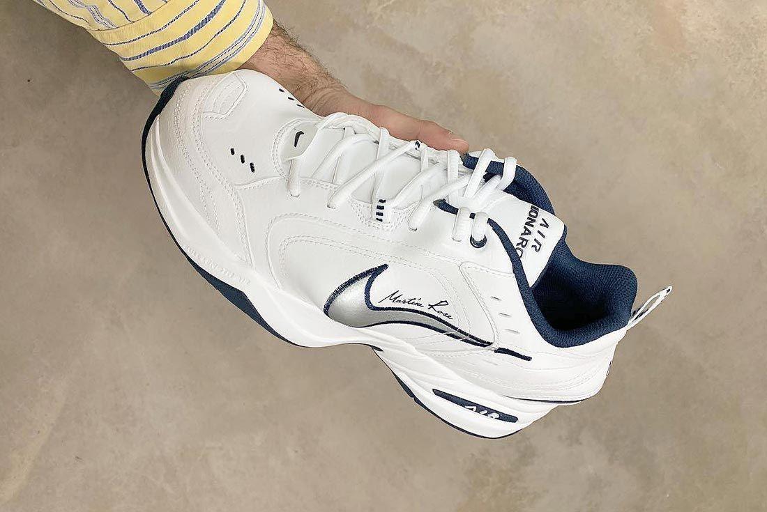 Thegallerystreetwear Martine Rose Nike Air Monarch Side Shot 1