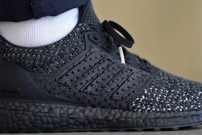Adidas Ultra Boost Clima Ltd Carbon On Foot 3