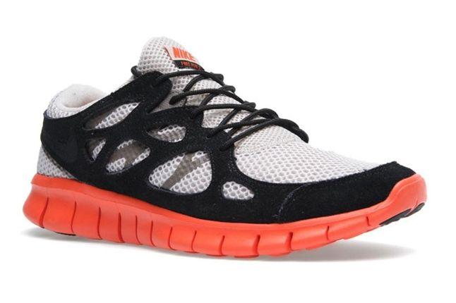 Nike Free Run 2 Ext Electric Orange Toe Profile 1