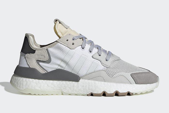 Adidas Nite Jogger Footwear White 1