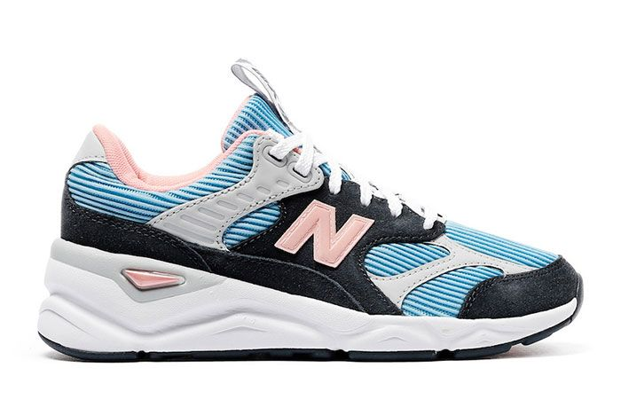 New Balance X 90 Reconstructed Summer Sky Side Shot 2