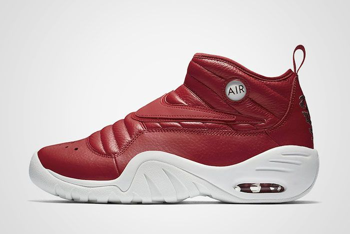 Nike Air Shake Ndestrukt Dark Red Thumb