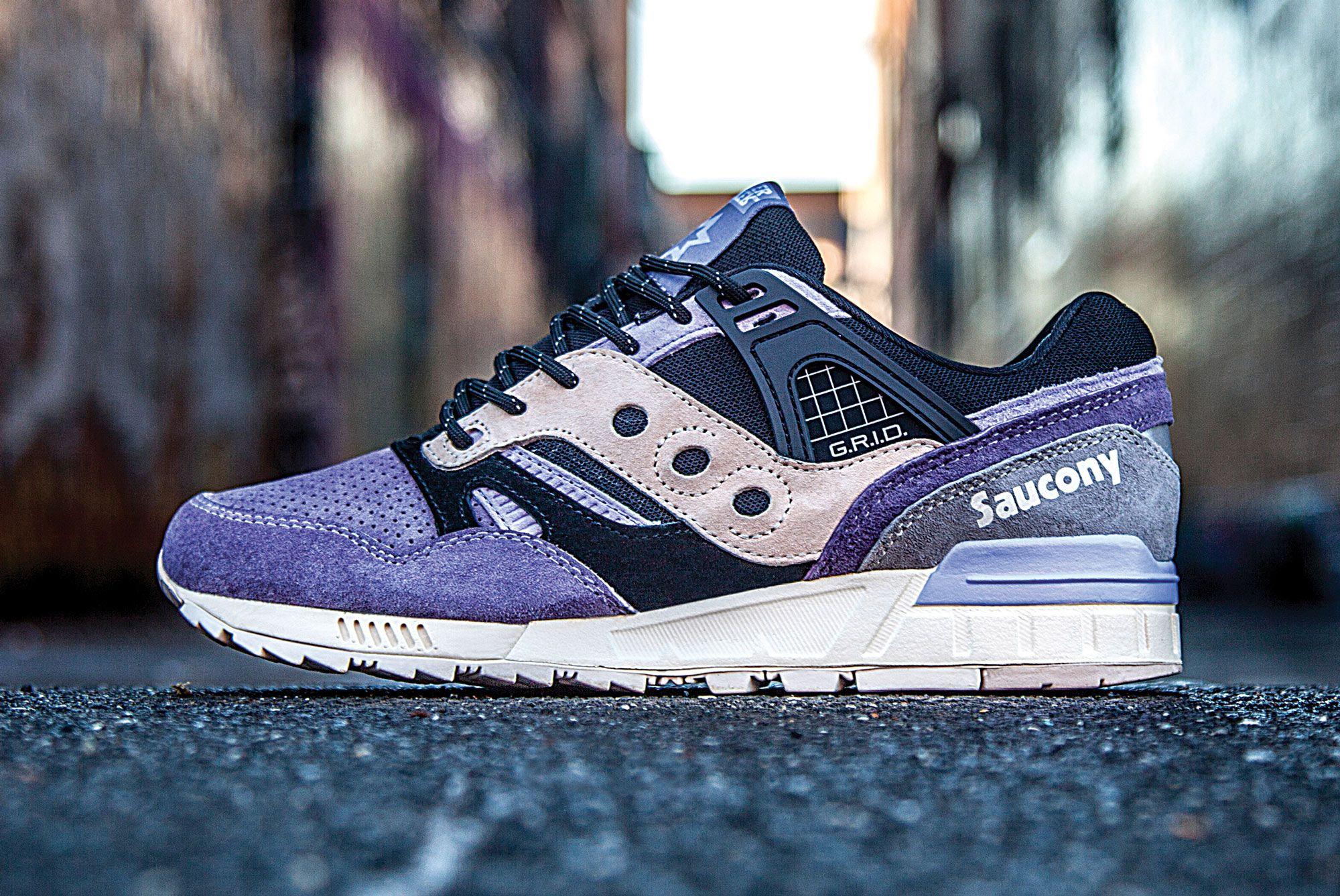 Sneaker Freaker x Saucony Grid 9000 'Kushwhacker'