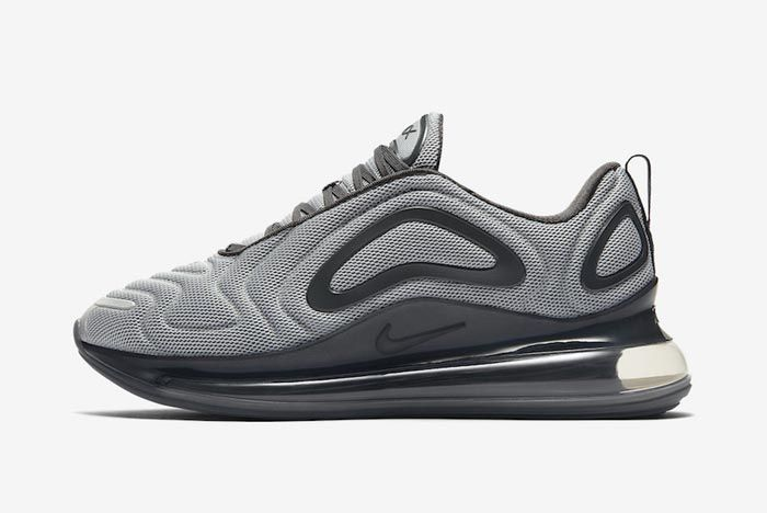 Nike Air Max 720 Wolf Grey Anthracite Lateral
