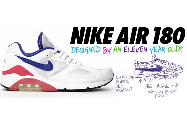 Nike Air 180 Designed By An Eleven Year Old 1 1