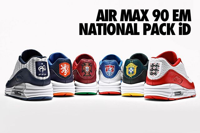 Nike Id Air Max 90 Em National Pack