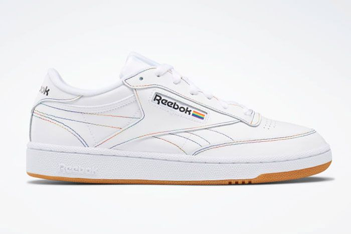 Reebok Pride Pack White Club C Right Side View Where To Buy