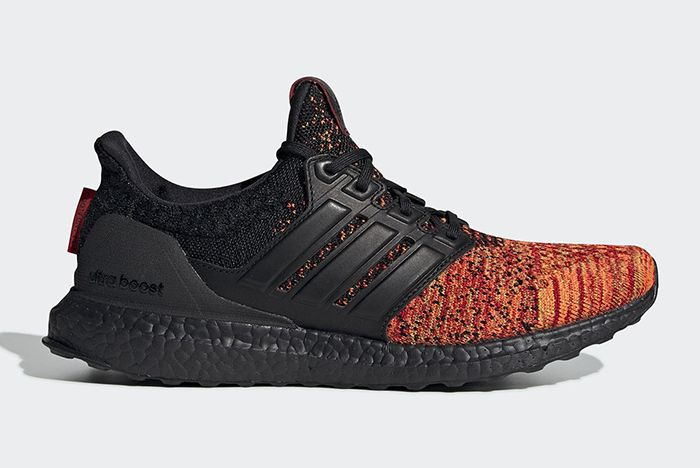Game Of Thrones Adidas Ultra Boost Targaryen Black Red Official 1