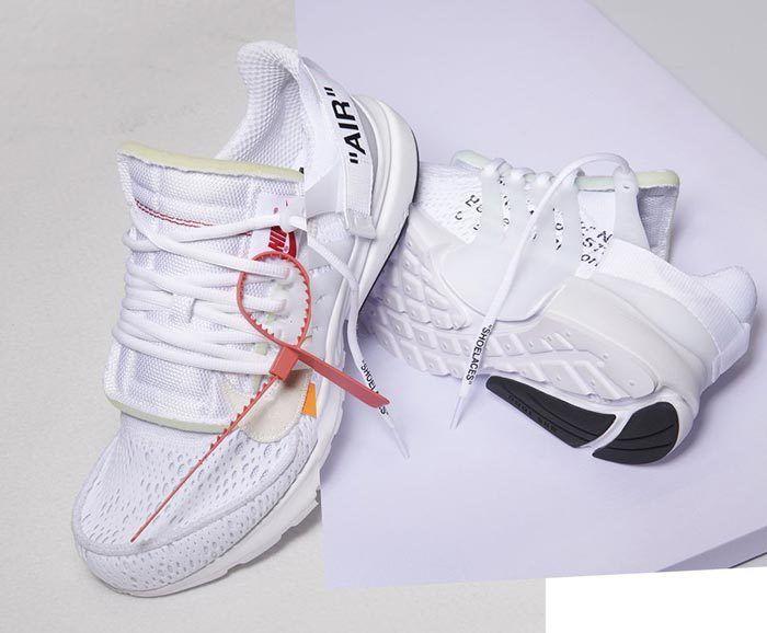 x Nike Air Presto in White Hits SNKRS