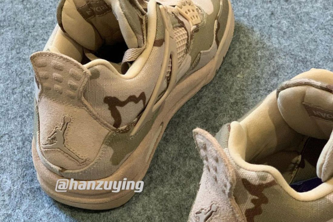 Aleali May x Air Jordan 4 leak