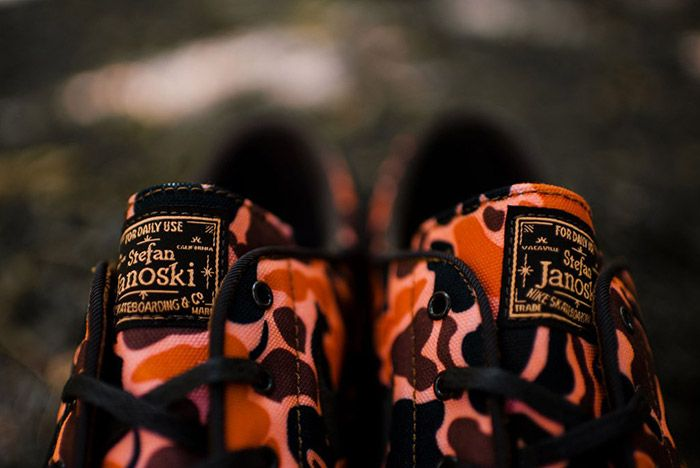 Nike Zoom Stefan Janoski Canvas Hazelnut Brown Camo 4