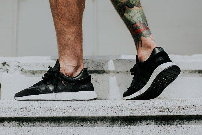 Adidas Iniki Runner Boost Core Black 1