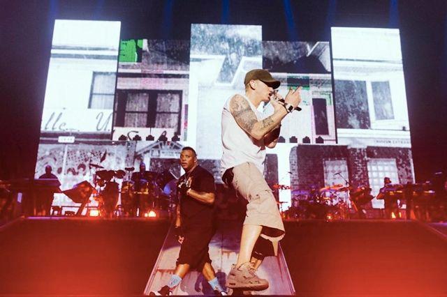 Eminem The Rapture 360 Melbourne