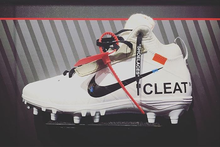 Mache Customs Off White X Nike Cleat–5