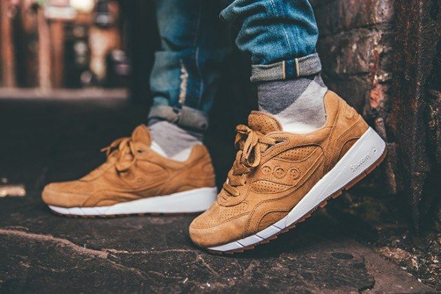 Saucony Irish Coffee Pack On Foot 4 640X4271