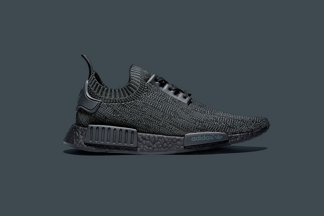 Adidas Originals Nmd R1 Pk ' Pitch Black'