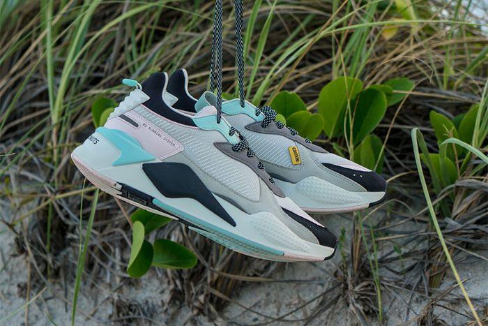 Shoe Palace Puma Rs X Falling Coconuts Release Date Beach