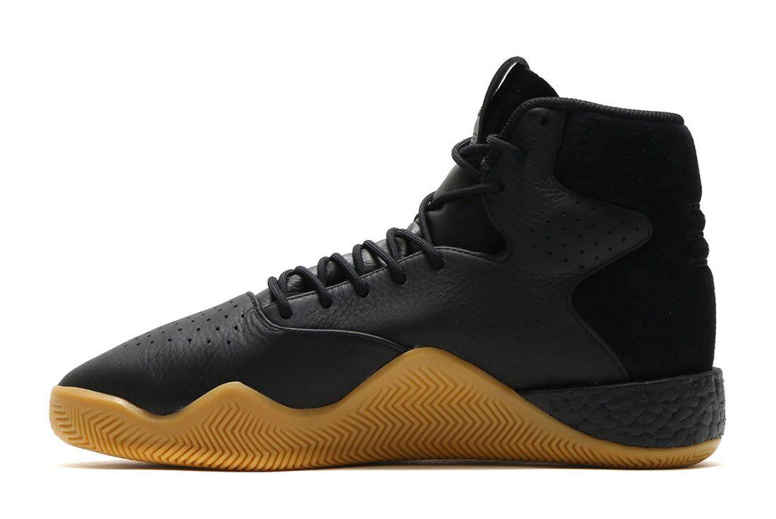 Adidas Tubular Instinct Black Leather 8