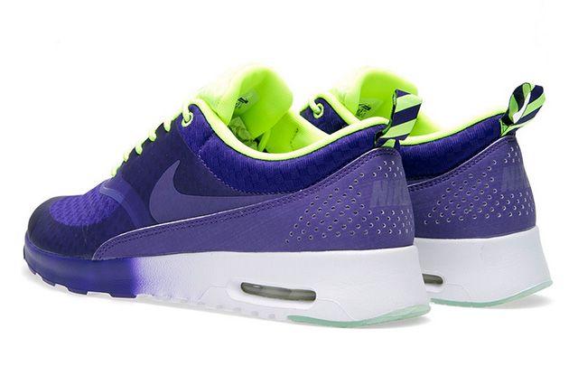 Nike Air Max Thea Woven Qs Pack Electric Purple 1
