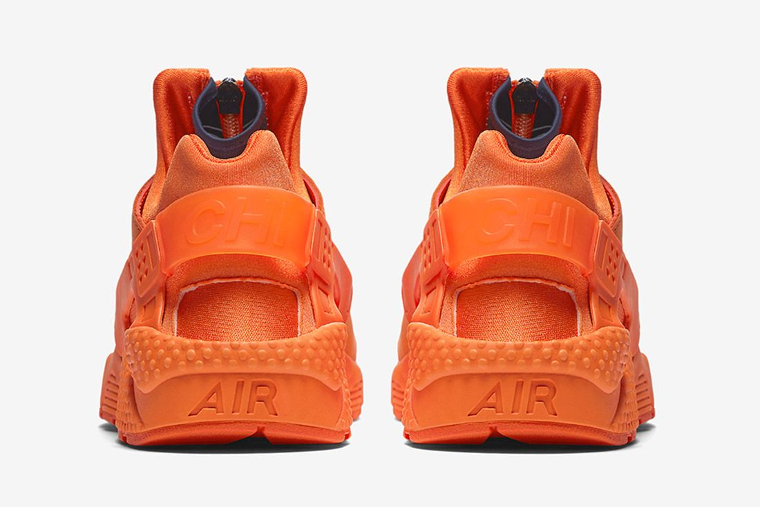 Nike Air Huarache Orange Blaze 5