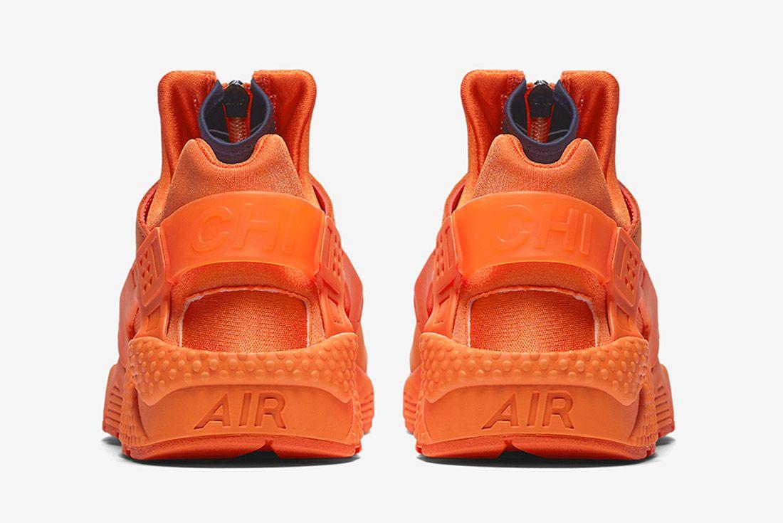 Nike Air Huarache Orange Blaze 5