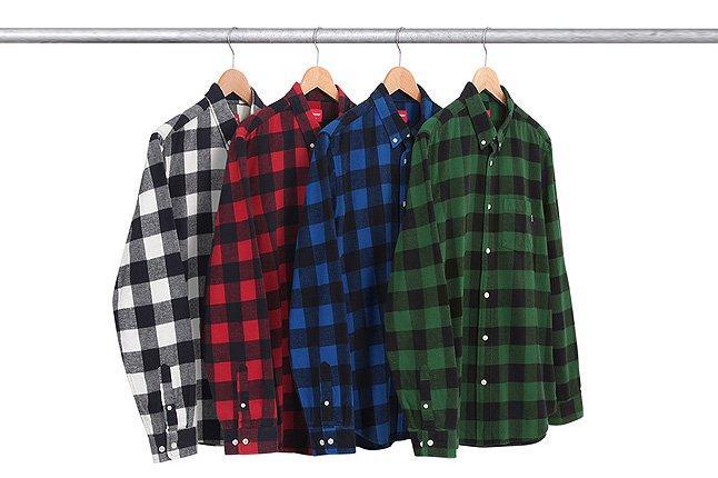 Supreme Buffalo Checkered Shirt Four Rack 1