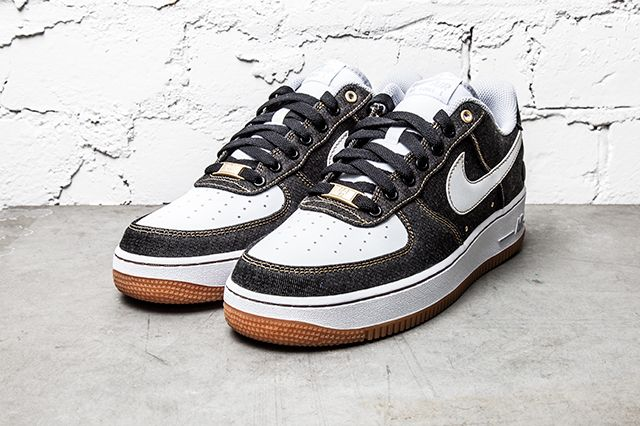 Nike Air Force 1 07 Denim Wolf Grey 1
