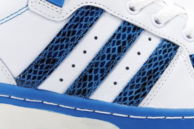 Blue Adidas Rivalry Lo Limited Edition Stripes 1