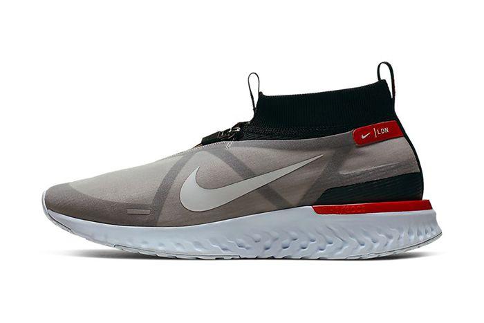 Nike React City Premium London Bq5304 001 Release Date Lateral