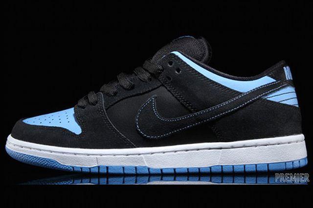 Nike Sb Dunk Low Pro Black University Blue White Available Now 1