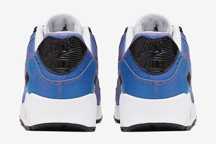 Nike Air Max 90 Laser Fuchsia 881105 606 Heel Shot