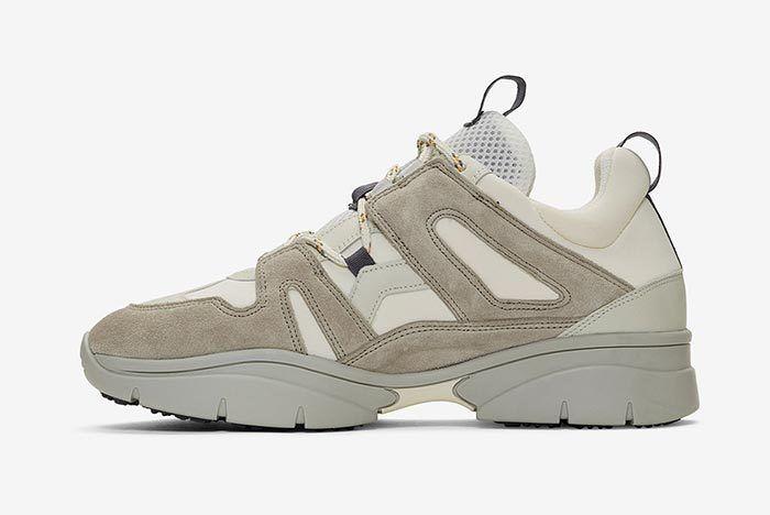 Isabel Marant Kindka Mountain Sneaker Light Grey 1