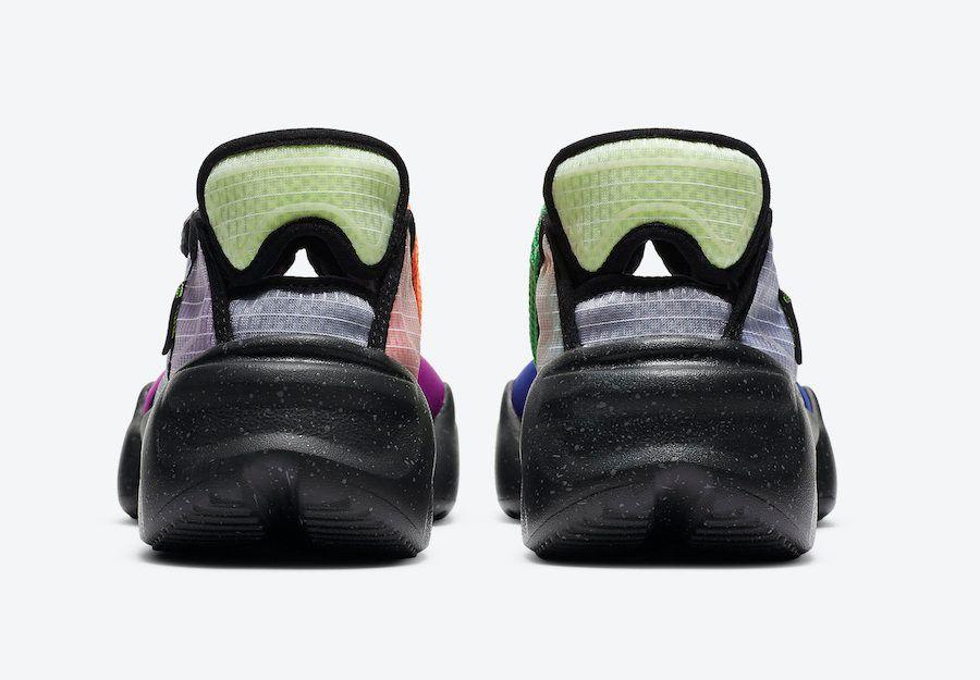 Nike Aqua Rift Concord Green Spark Volt Heel