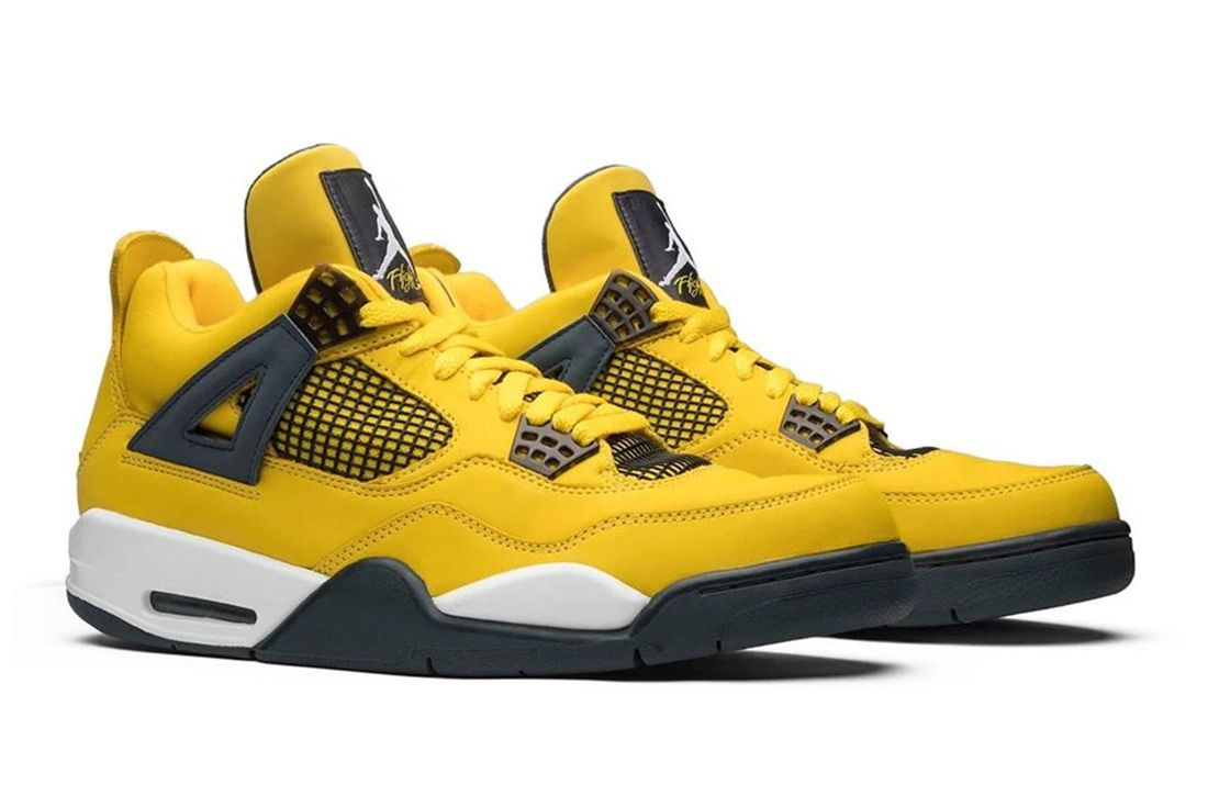 air jordan 4 lightning leak