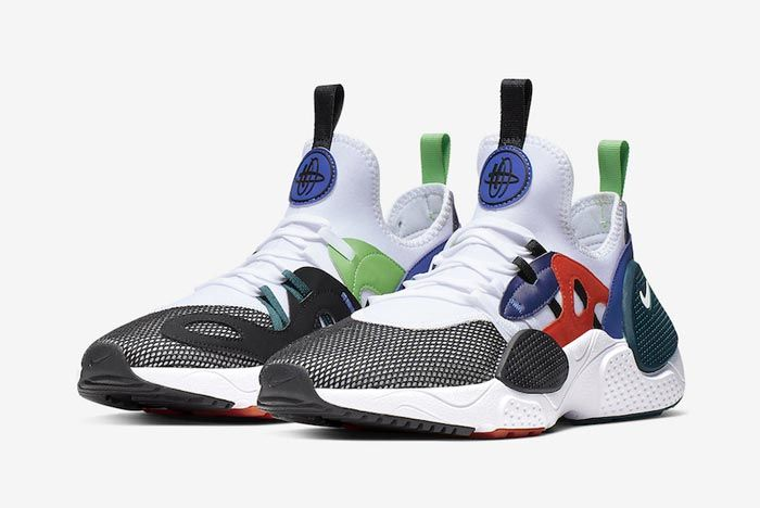 Nike Huarache Edge Txt Water Duck Blue Pair