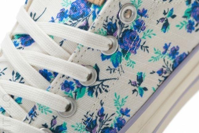 Converse Ctas Ox Floral White Lace Detail 1