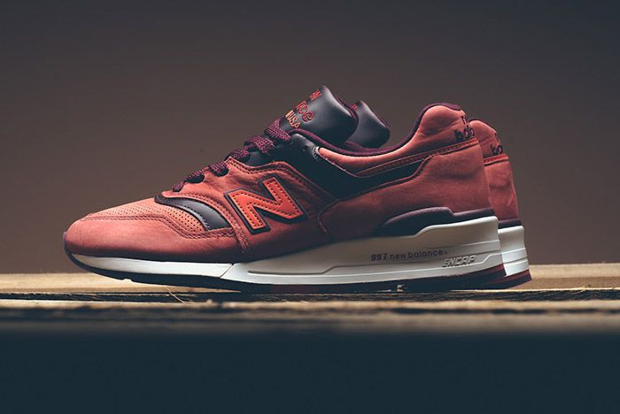 New Balance Horween 997 Red Clay 2