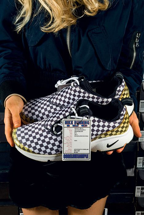The Chicks With Kicks Sneaker Freaker Interview Nike Air Footscape 2 Cheap Trick Sample