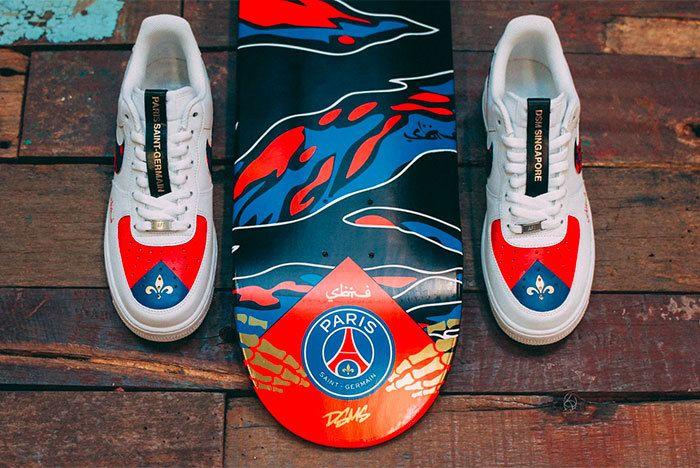 Sneaker Freaker Paris Saint Germain1 Fc Sabotage Collab 111