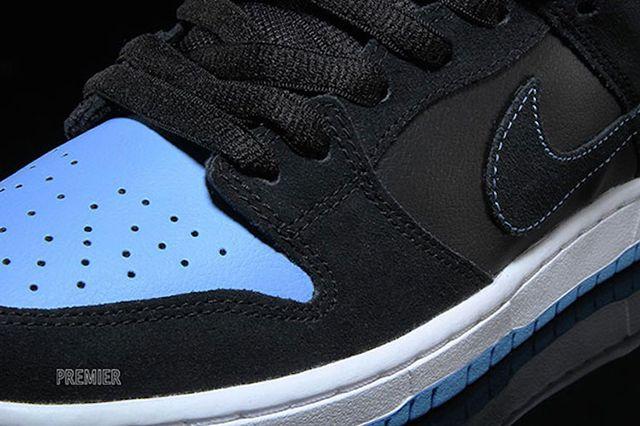 Nike Sb Dunk Low Pro Black University Blue White Available Now 5
