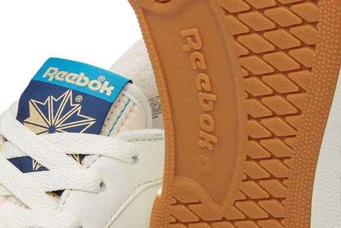 Reebok Club C 85 Retro Chalk White Gum Blue 1