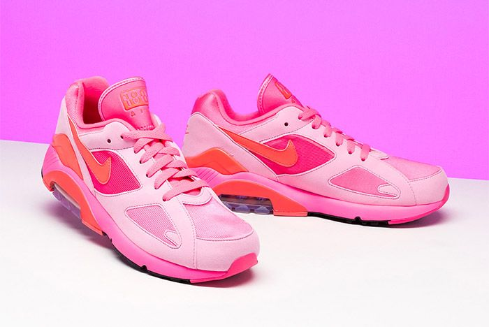 Comme Des Garcons Nike Air 180 Pink 2