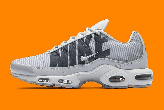 Nike Air Max Plus Stripes Grey 2