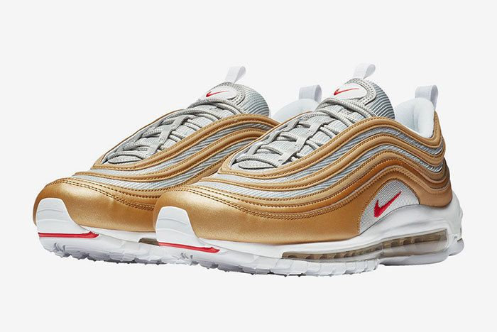 Nike Air Max 97 Gold Red 1